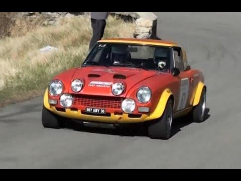 Rally Di Sanremo Storico 2012 Fiat 124 Abarth Youtube