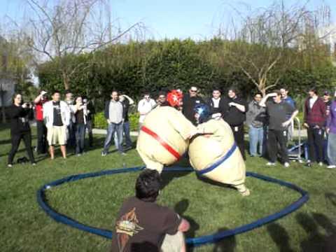 QA MGRs Sumo Battle