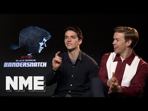Black Mirror: Stars Will Poulter and Fionn Whitehead on 'Black Mirror: Bandersnatch'