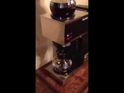Bunn Coffee Maker Leaking : Repair a leak in a Bunn coffee maker. FunnyDog.TV