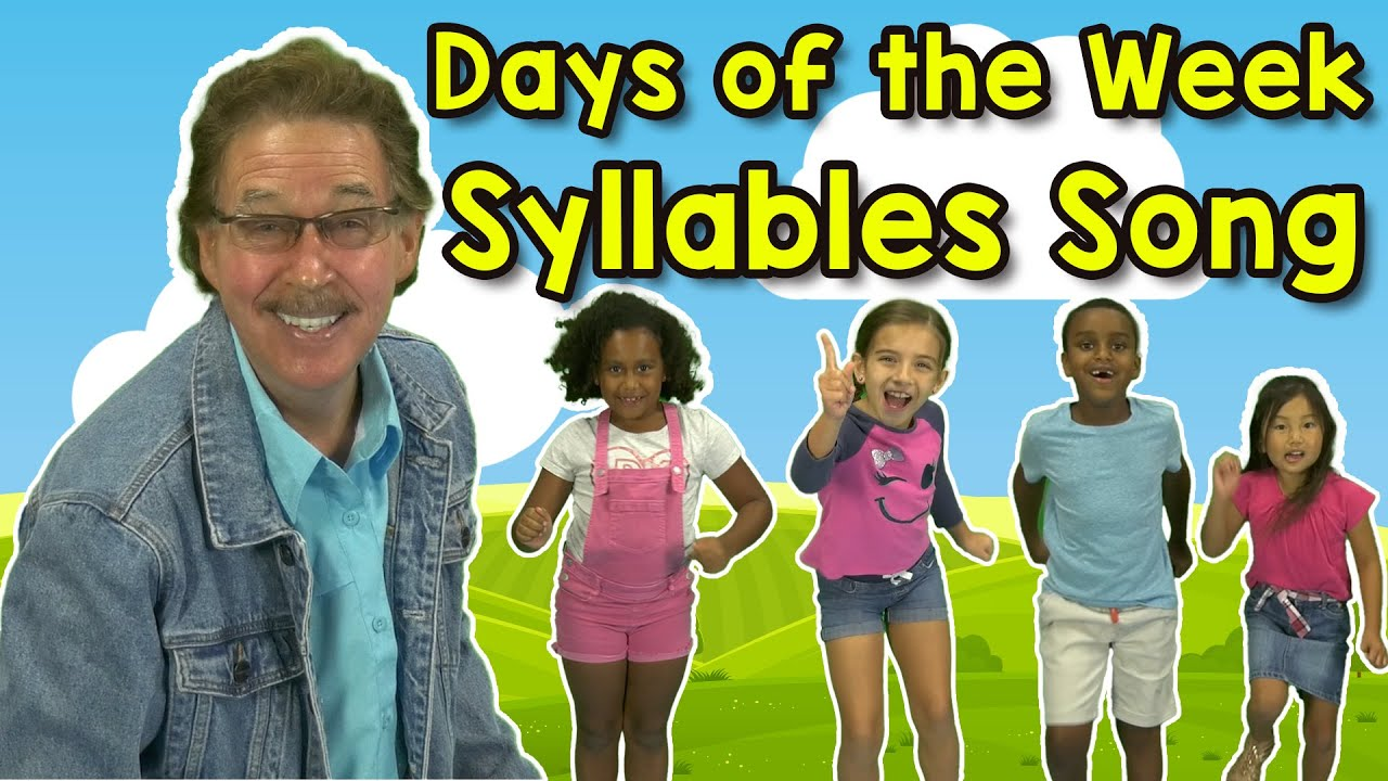 Download Days of the Week Syllables Song   Jack Hartmann   Syllable Song