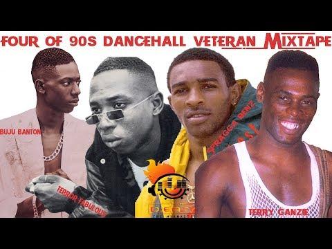 90s Dancehall Veterans ShowDown Buju Banton,Terror Fabulous,Terry Ganzie &Spragga Benz Mix by djeasy