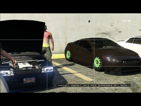 grand theft auto online playstation car meet