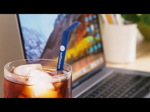 KoffieStraw   Reusable Silicone Straws