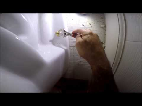 How to Fix a Wobbly Toilet  & Tightening a loose toilet  Vedat USTA
