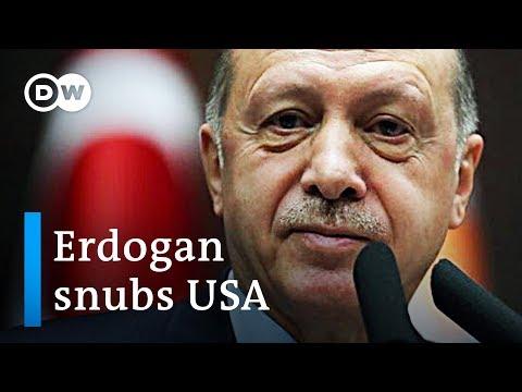 Turkey's Erdogan snubs Trump adviser Bolton, calling US' Kurdish allies terrorists | DW News