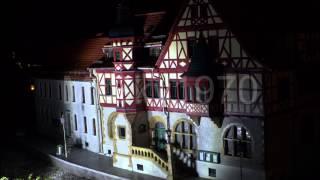 Kleiner Harz Miniaturenpark Wernigerode bei Nacht