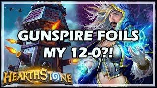 GUNSPIRE FOILS MY 12-0?! - Arena / Hearthstone