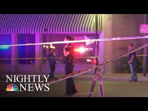 Dayton Mass Shooting: Survivors Speak Out After Gunman Kills 9 Outside Ohio Bar   NBC Nightly News