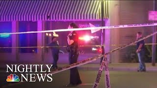 Dayton Mass Shooting: Survivors Speak Out After Gunman Kills 9 Outside Ohio Bar | NBC Nightly News