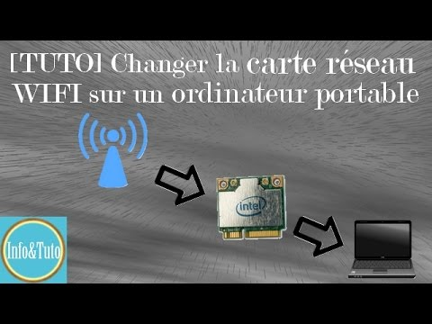 tuto changer la carte r seau wifi sur un ordinateur portable youtube. Black Bedroom Furniture Sets. Home Design Ideas