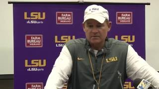 Full Les Miles Press Conference 9.21.16