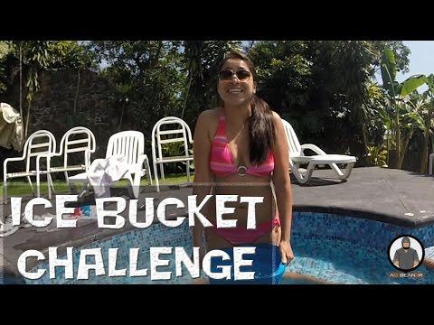 #IceBucketChallenge Cris cumpliendo su reto