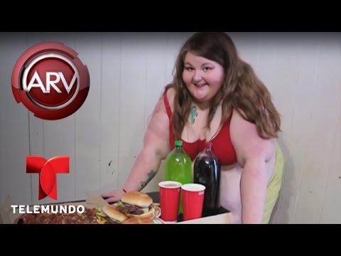 Joven que sufre por sobrepeso se convierte en modelo | Al Rojo Vivo | Telemundo