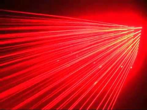 1w 1000mw Red Laser Light Curtain 10 Heads Parallel Laser