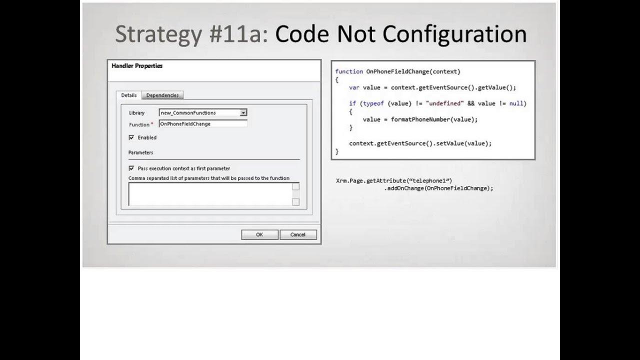 Microsoft Dynamics CRM JavaScript Upgrade Strategies