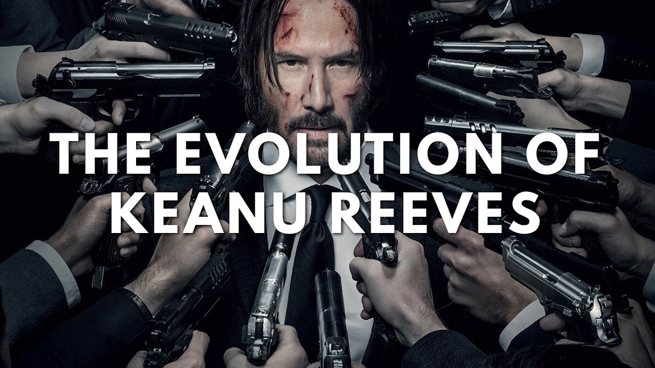 The Evolution Of Keanu Reeves In Movies - YouTube