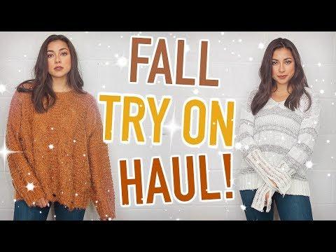 Fall Try On Haul 2018! Nordstrom, Vici, LuluLemon, & More! | Jeanine Amapola
