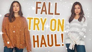 Fall Try On Haul 2018! Nordstrom, Vici, LuluLemon, & More!   Jeanine Amapola