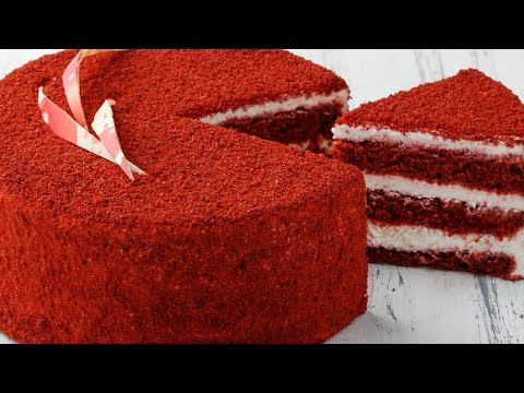 Рецепт торта красный бархат в домашних условиях с фото пошагово
