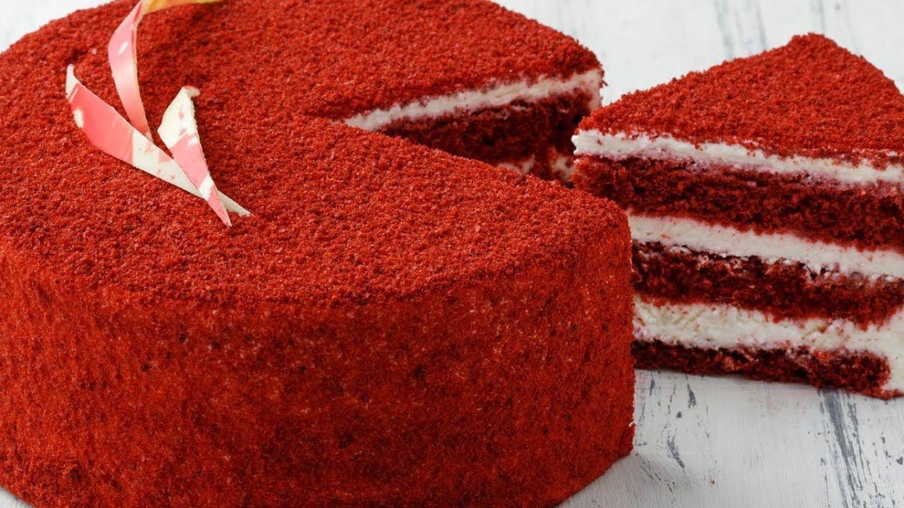 Торт Красный бархат. Рецепты домашних тортов пошагово ...