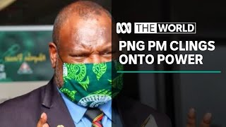 "PNG Prime Minister ""confident"" he can hold power ahead of Scott Morrison's visit 