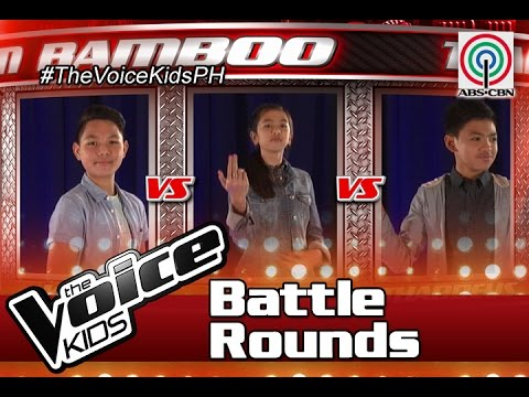 """The Voice Kids Philippines Battle Rounds 2016: """"Almost Is Never Enough"""" by Kyle, Agatha, Thaddeus"""