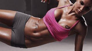 Видеоурок Фитнес дома Укрепление мышц живота