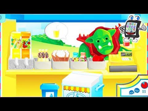 Playmobil BONBON BUDE Online Spiel deutsch | Süßigkeiten & Getränke verkaufen an Monster? | Games