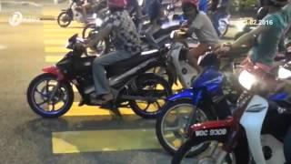 Jalan Raya Akan Ditutup Untuk Program Lumba Halal Mat Motor