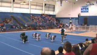 Leilehua Varsity Cheer (Preseason 2010)