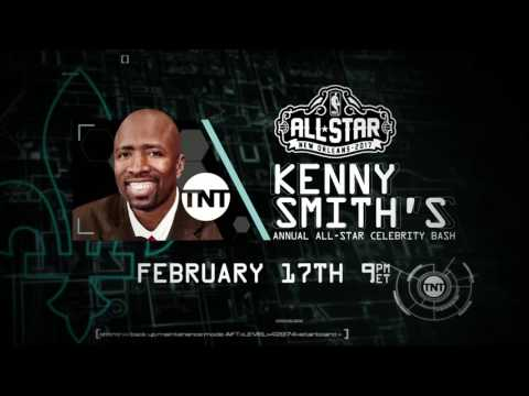 EJ's Neato Stat: Kenny's Annual All-Star Party Promo | Inside the NBA | NBA on TNT