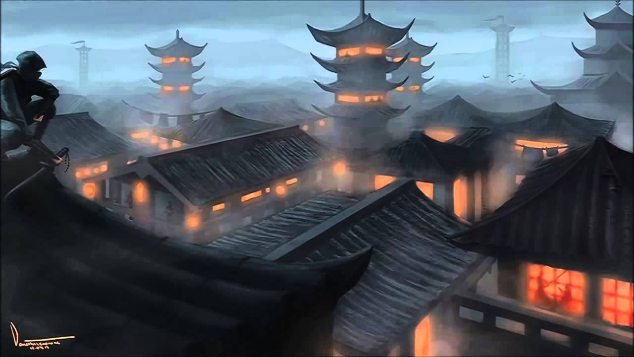 Epic Japanese Music Shadow Ninja - YouTube  Epic Japanese M...