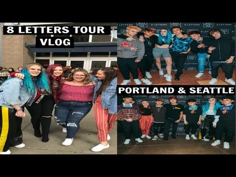WHY DON'T WE 8 LETTERS TOUR: PORTLAND & SEATTLE VLOG | Omgitstaylor