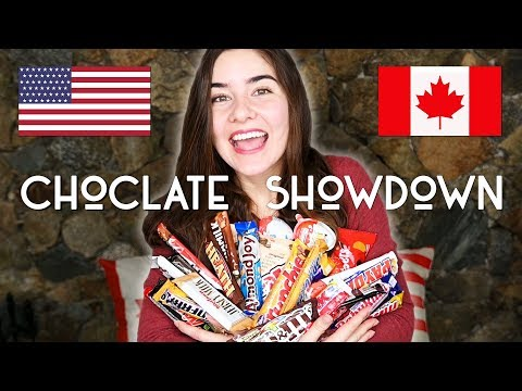 Canadian vs American Chocolate Bars