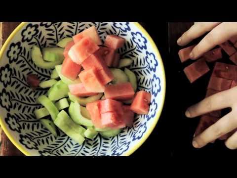We make a fresh summer salad with Melia Marden | Anthropologie