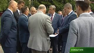 Александр Богомаз осмотрел пристройку к школе №59 05 06 18