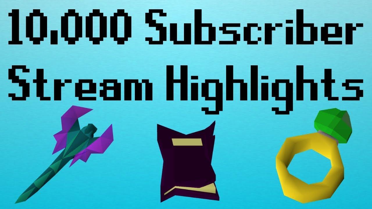 [OSRS] 10,000 Subscriber Stream Highlights! (Raid, Telegrab Vorkath,  Staking)