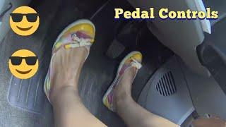 Clutch Brake Accelarator Control Tutorial    Car Driving Lesson Urdu Hindi