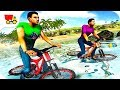 Bike Racing Games - Water Surfer Floating BMX Bicycle Rider Racing - Gameplay Android free games