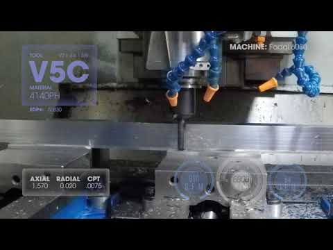 GARR TOOL - V5C   1/2 x 4 x 1 5/8   EDP #50830