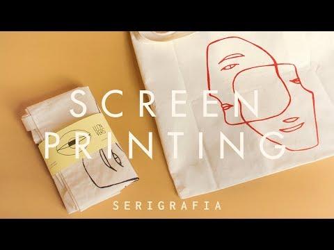 Studio Vlog | Screen Printing
