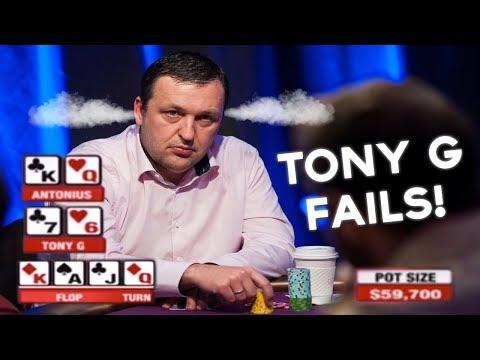 Tony G Tries To Outplay Antonius And FAILS!