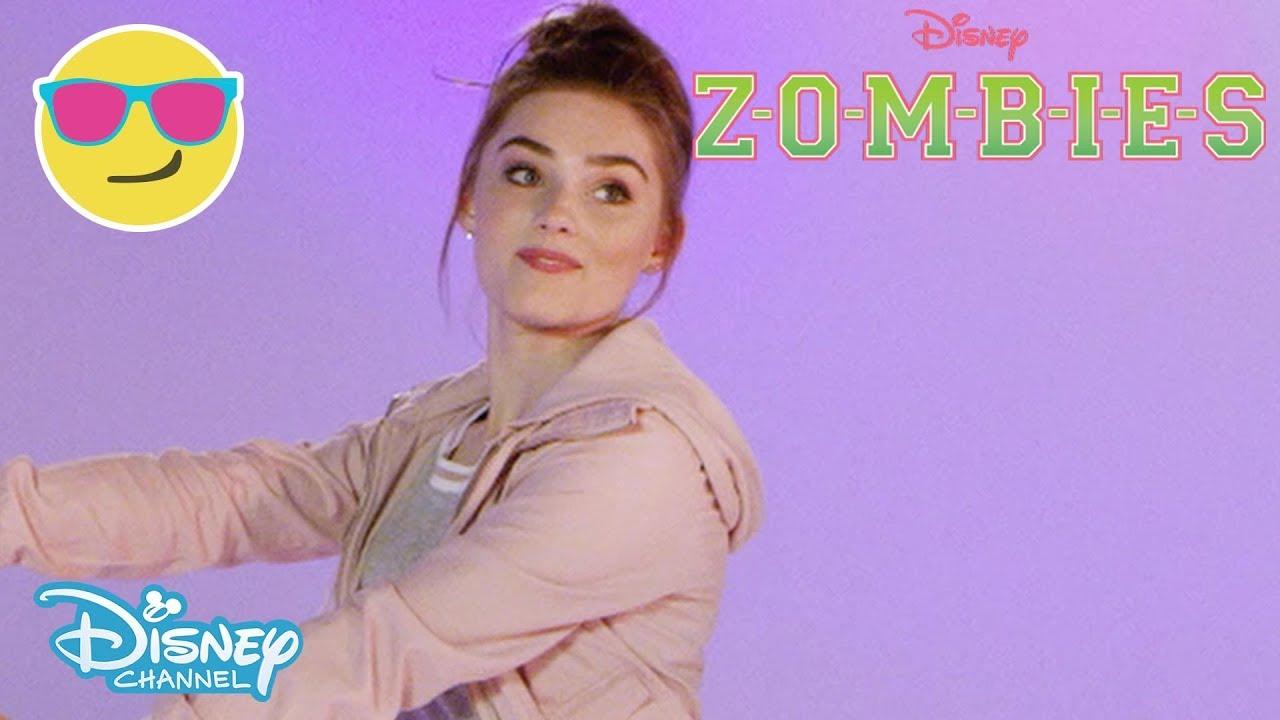 Z O M B I E S Bamm Song Dance Tutorial Official Disney Channel