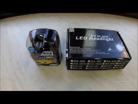 Замена ламп ближнего света на тойота королла 2011г