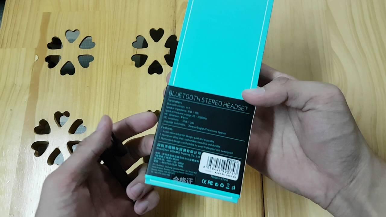 Tai nghe Bluetooth mini Usams US-KL001 – 0364502205