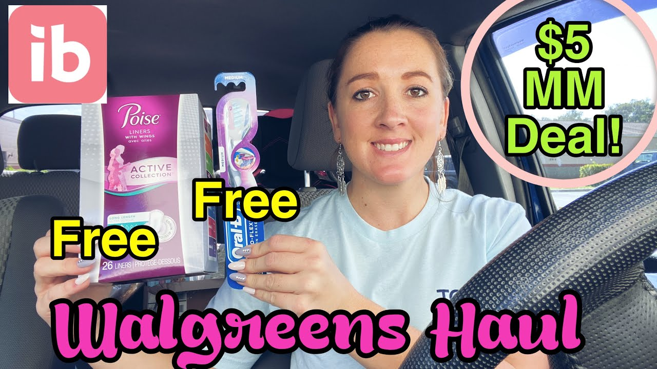 Walgreens Haul $5 Money Maker Deal! 11/1-7/2020