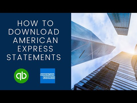 How To Download American Express Statements To Quickbooks Online | Honest Accounting Group