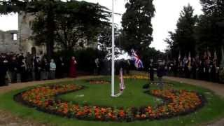 Newark On Trent Armed Forces Day Parade - Flag Raising (5)