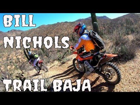 Baja Dirt Bike Bill Nichols Trail Sky View